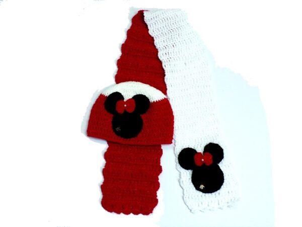 Σετ Minie Mouse glitter 1
