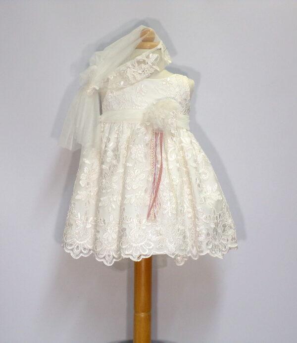 Βαπτιστικό φόρεμα Β201 1