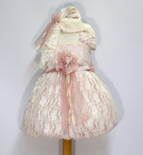 Βαπτιστικό φόρεμα Β203 1
