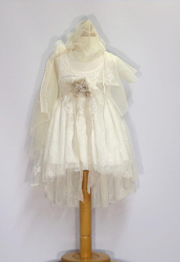 Βαπτιστικό φόρεμα  Β206 1