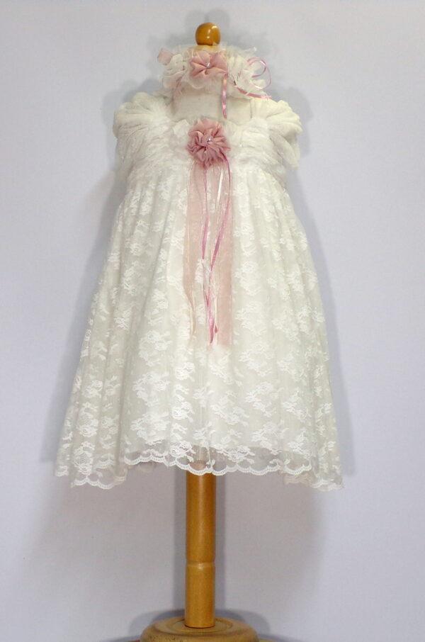 Βαπτιστικό φόρεμα  Β207 1