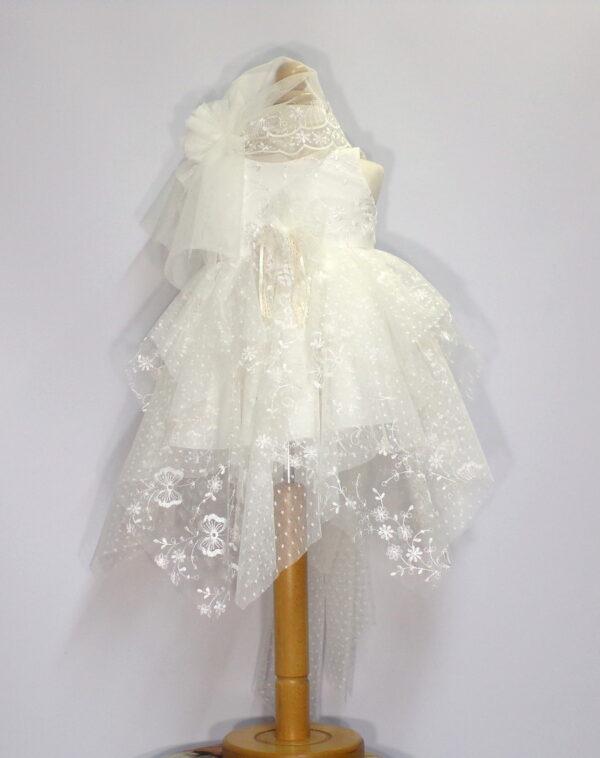 Βαπτιστικό φόρεμα  Β208 1