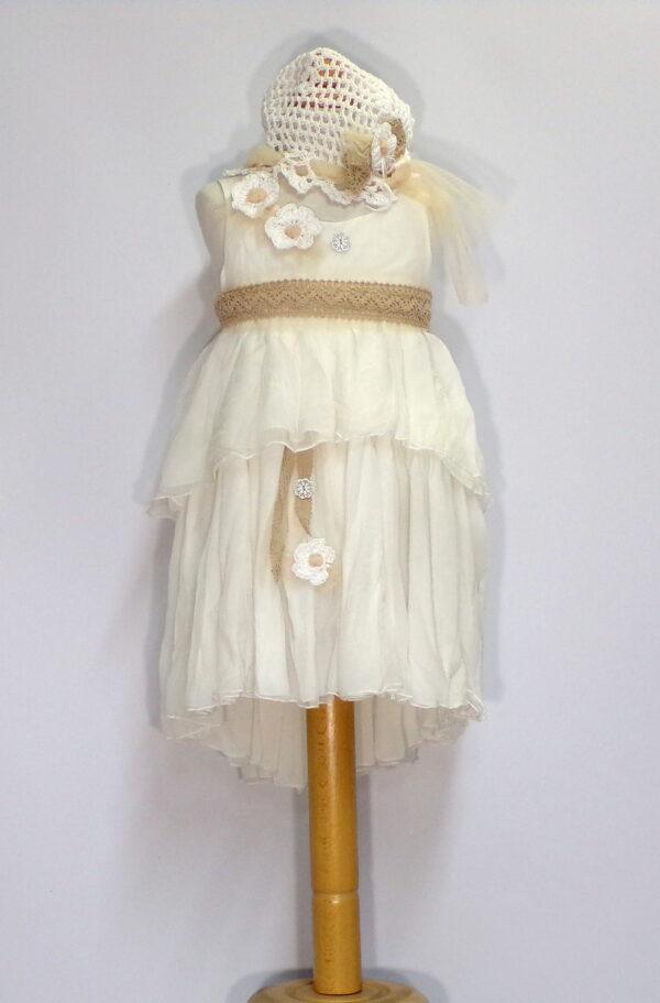 Βαπτιστικό φόρεμα Β209 1