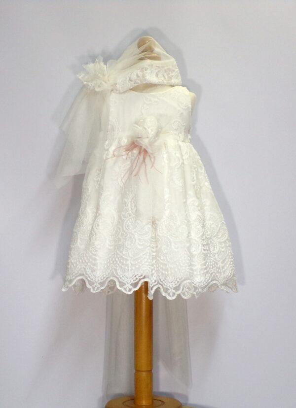 Βαπτιστικό φόρεμα Β210 1