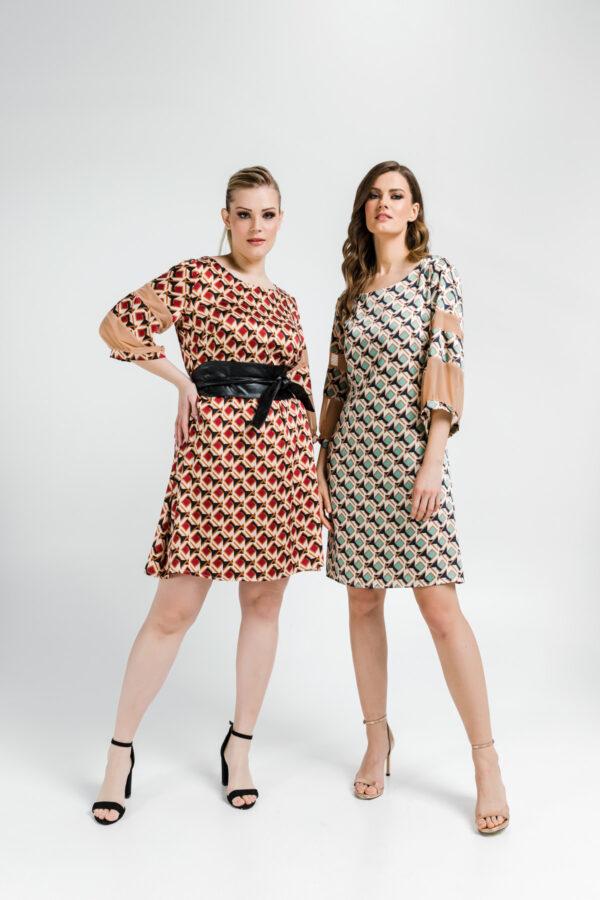 Φόρεμα σατέν 1