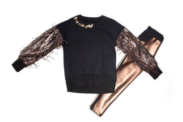 Σετ μπλούζα-κολλάν Style 1