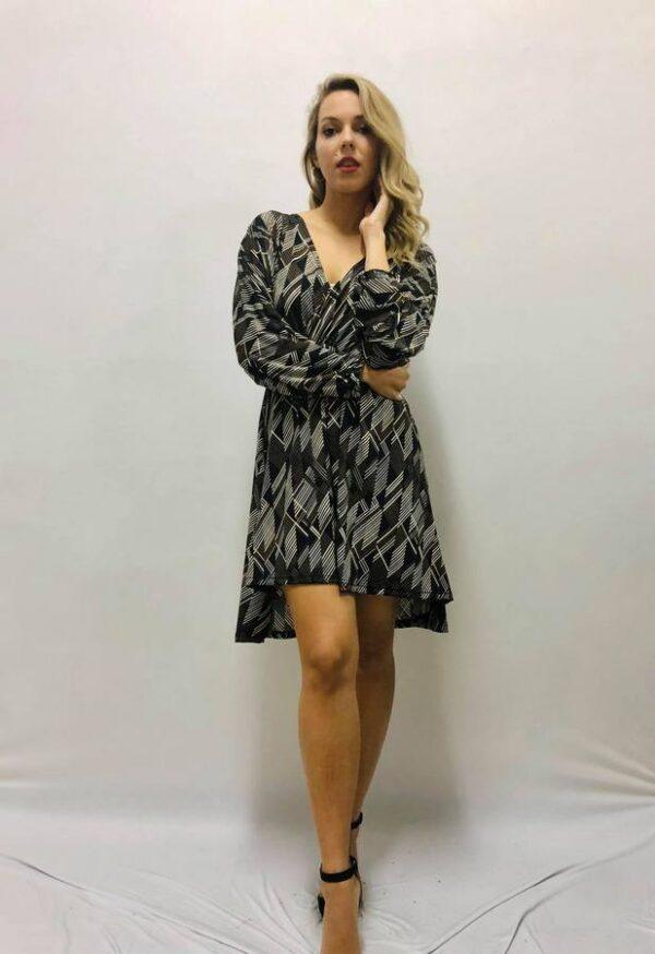 Φόρεμα ασύμμετρο 1
