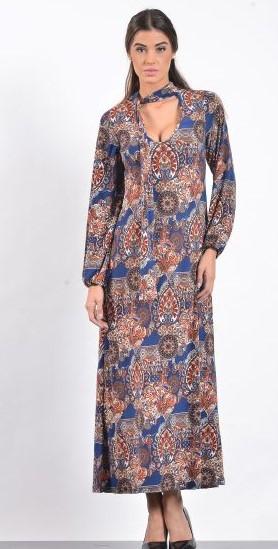 Φόρεμα Εμπριμέ 5087 1