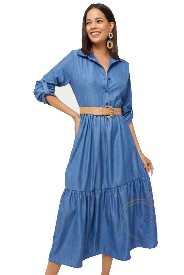Midi φόρεμα Αέρινο 1