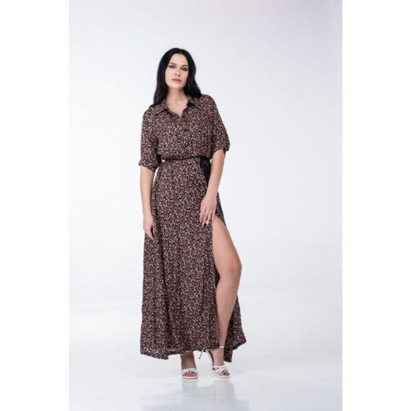 Maxi φόρεμα με κουμπιά 1