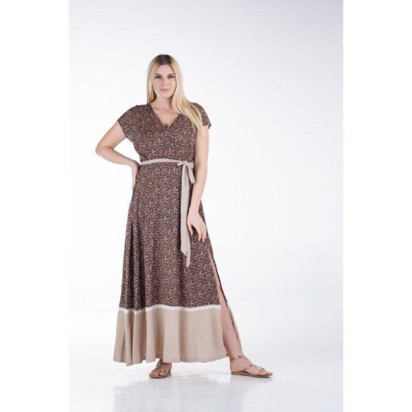 Maxi φόρεμα Κρουαζέ 1