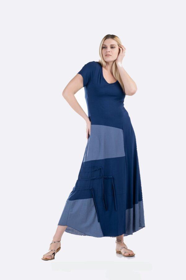 Maxi φόρεμα λούρεξ 1